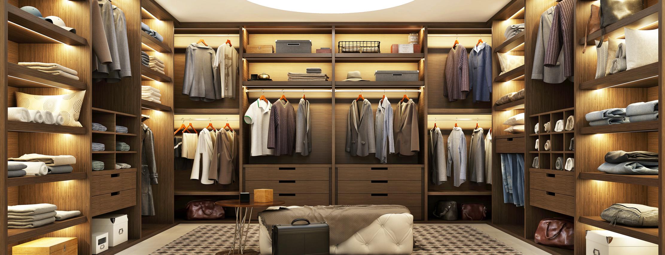 Begehbarer Kleiderschrank Die Schonsten Trends Und Ideen